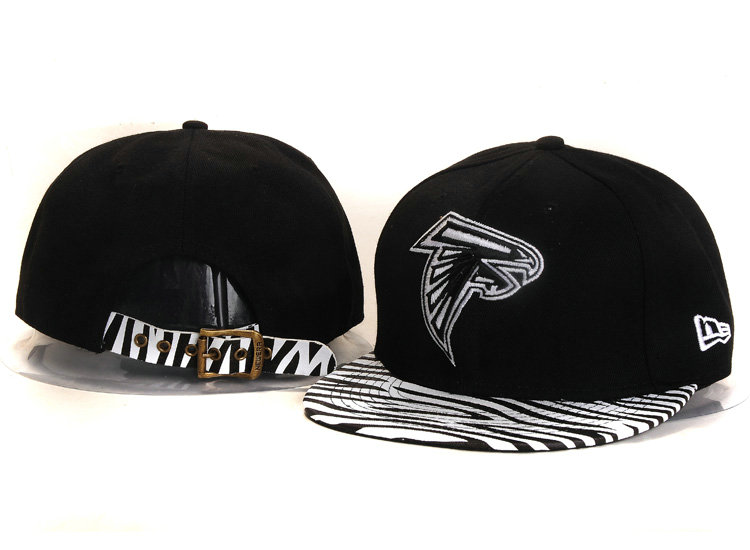 Atlanta Falcons Black Snapback Hat YS 1