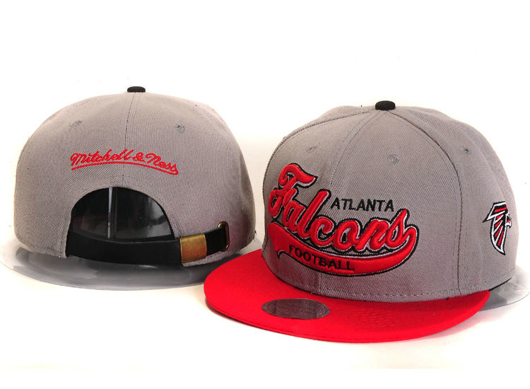 Atlanta Falcons Grey Snapback Hat YS