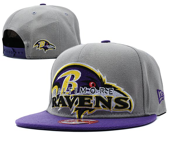 Baltimore Ravens Snapback Hat SD 8503