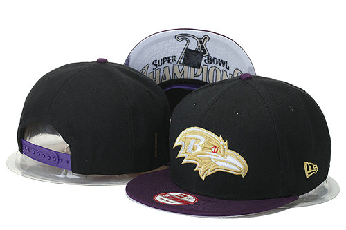 Baltimore Ravens Snapback Black Hat 2 XDF 0620