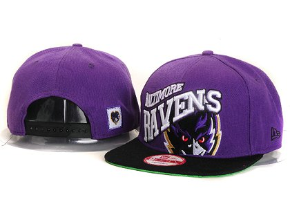 Baltimore Ravens New Type Snapback Hat YS 6R49