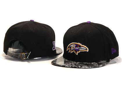 Baltimore Ravens New Type Snapback Hat YS A701