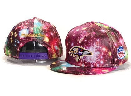 Baltimore Ravens New Type Snapback Hat YS A702