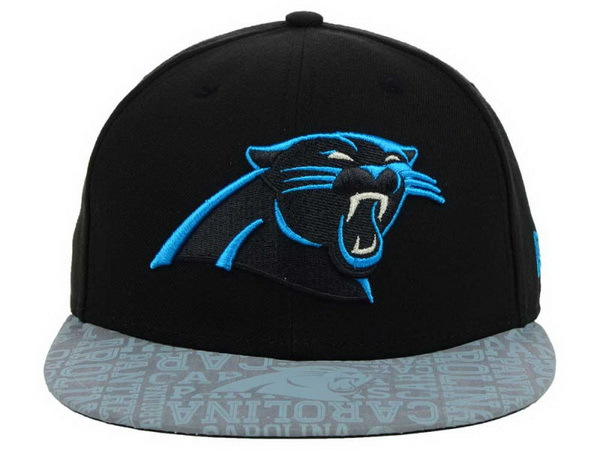 Carolina Panthers Black Snapback Hat XDF 0528