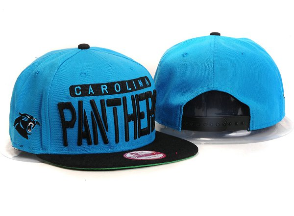 Carolina Panthers Snapback Hat YX 8322