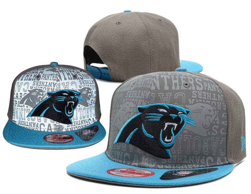 Carolina Panthers Reflective Snapback Hat SD 0721