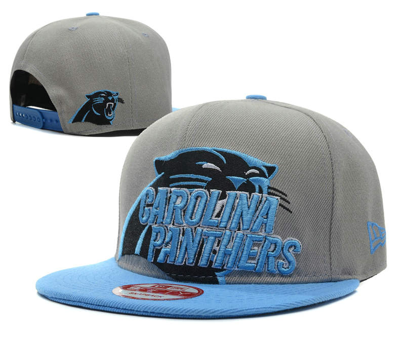 Carolina Panthers Grey Snapback Hat SD