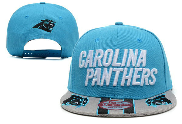 Carolina Panthers Blue Snapback Hat XDF