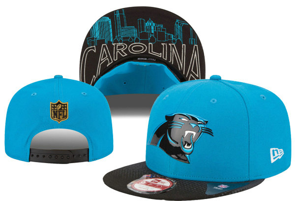 Carolina Panthers Snapback Blue Hat XDF 0620