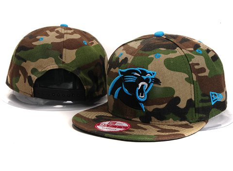 Carolina Panthers NFL Snapback Hat YX291
