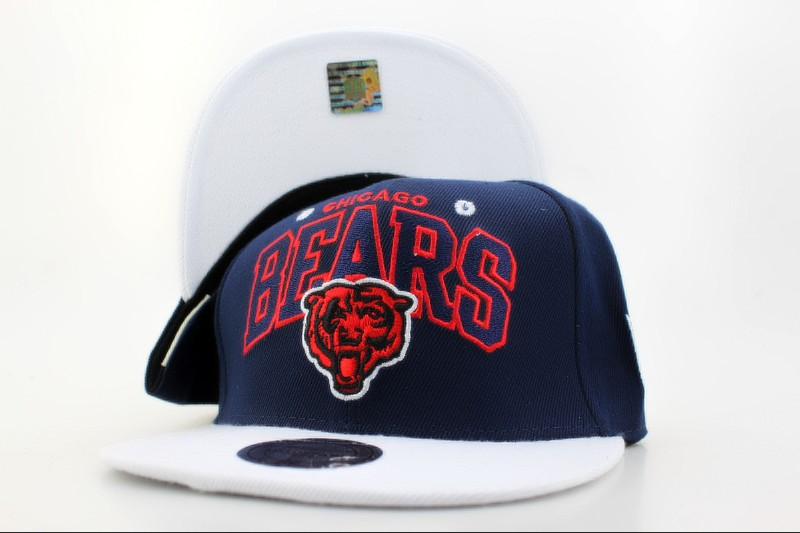 Chicago Bears Snapback Hat QH 102