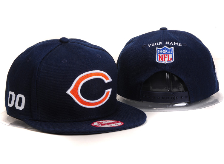 Chicago Bears Snapback Hat Ys 2102