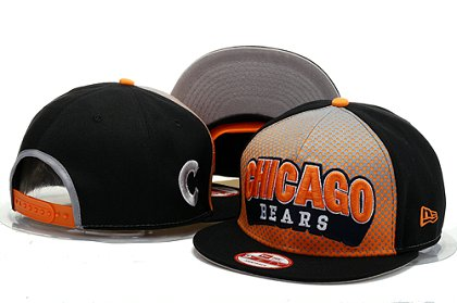 Chicago Bears Snapback Hat YS F 140802 02