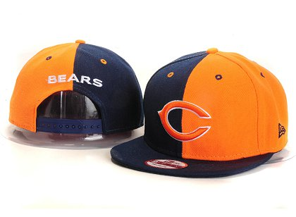 Chicago Bears New Type Snapback Hat YS 6R16