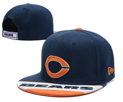 Chicago Bears Snapback Hat 103SD 04