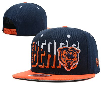 Chicago Bears Snapback Hat SD 1s03