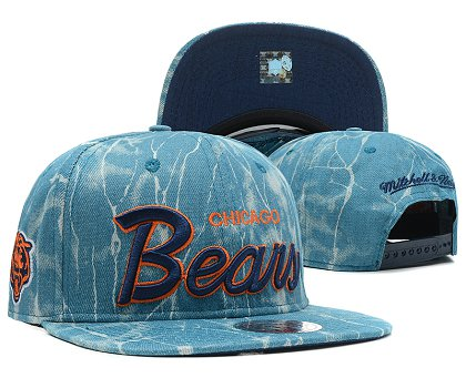 Chicago Bears Snapback Hat SD 8701