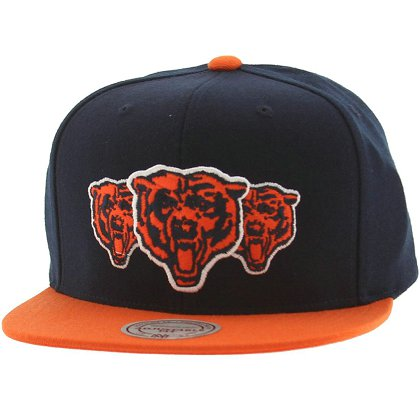 Chicago Bears Snapback Hat X-DF