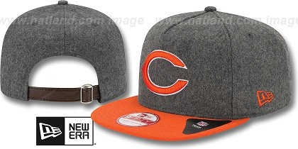 Chicago Bears-Melton Snapback Hat SF 12