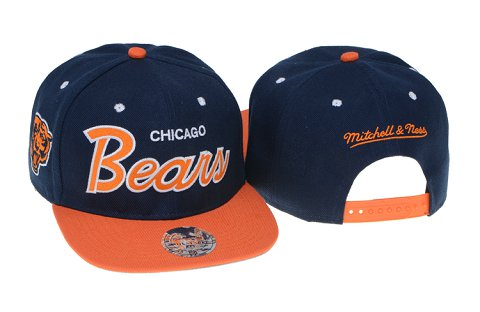 Chicago Bears NFL Snapback Hat 60D3