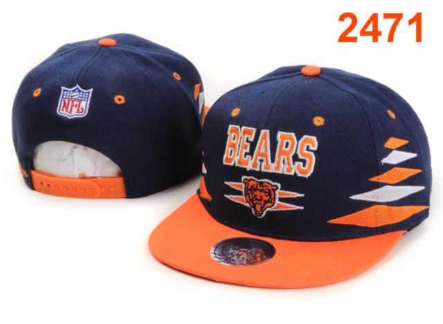 Chicago Bears NFL Snapback Hat PT78