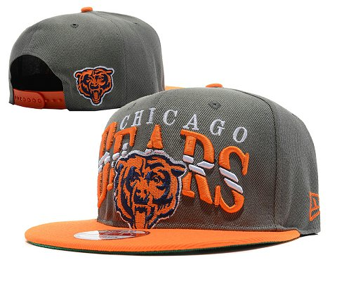 Chicago Bears NFL Snapback Hat SD4