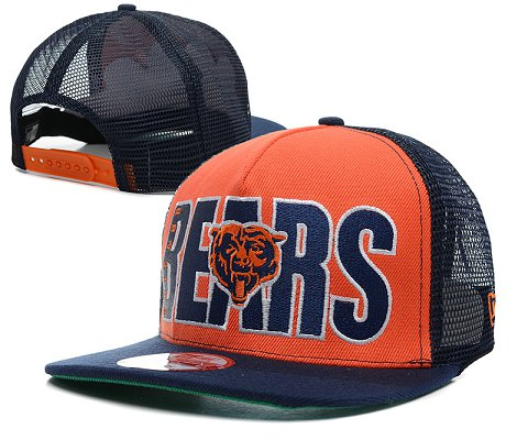 Chicago Bears NFL Snapback Hat SD6