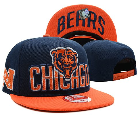 Chicago Bears NFL Snapback Hat SD7