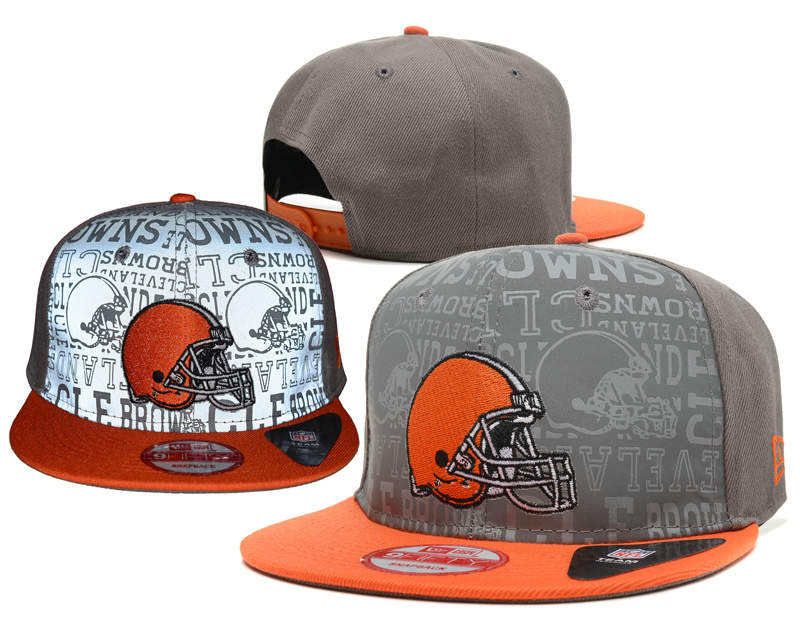 Cleveland Browns Reflective Snapback Hat SD 0721