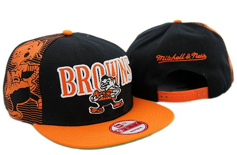 Cleveland Browns NFL Snapback Hat YX246