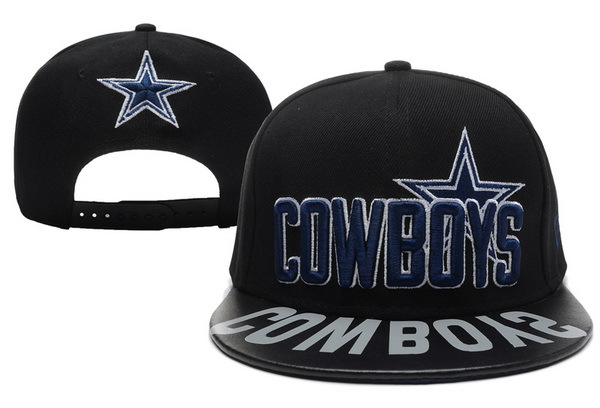 Dallas Cowboys Black Snapback Hat XDF 0512