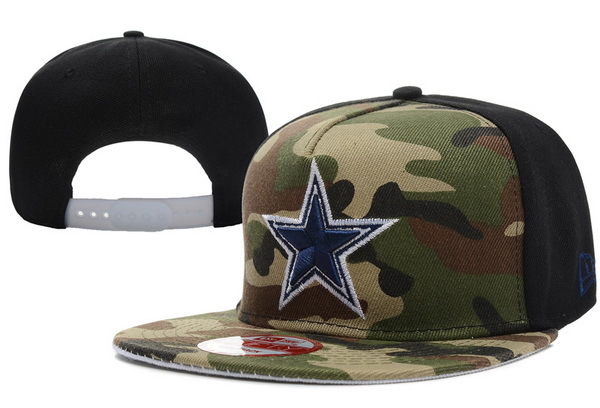 Dallas Cowboys Camo Snapback Hat XDF