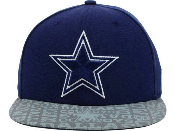 Dallas Cowboys Blue Snapback Hat XDF 0528