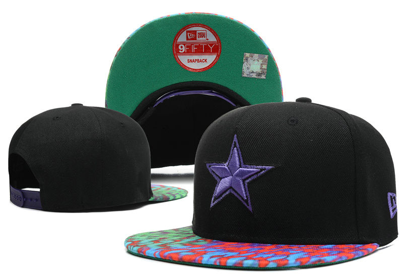 Dallas Cowboys Black Snapback Hat DF