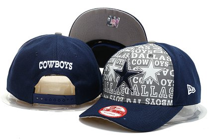 Dallas Cowboys Snapback Hat YS F 140802 13