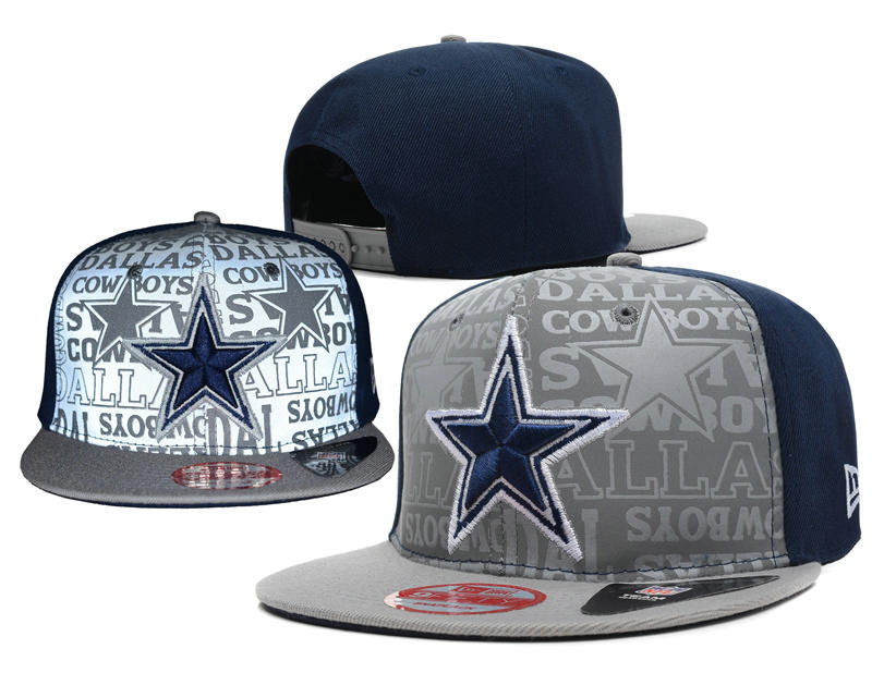 Dallas Cowboys 2014 Draft Reflective Snapback Hat SD 0613