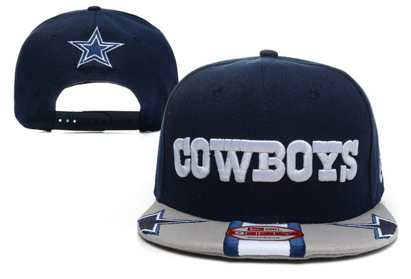Dallas Cowboys Blue Snapback Hat XDF