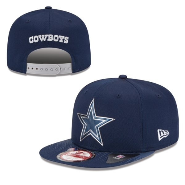 Dallas Cowboys Snapback Navy Hat 1 XDF 0620