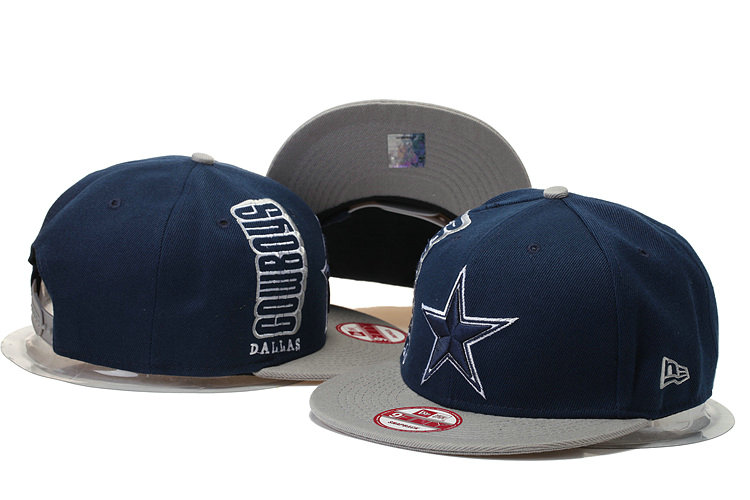 Dallas Cowboys Snapback Navy Hat 2 XDF 0620