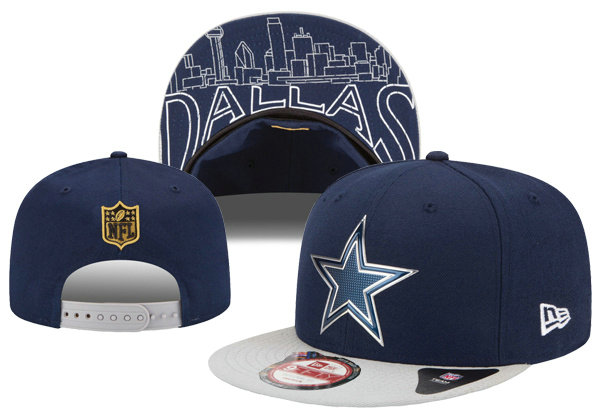 Dallas Cowboys Snapback Navy Hat XDF 0620