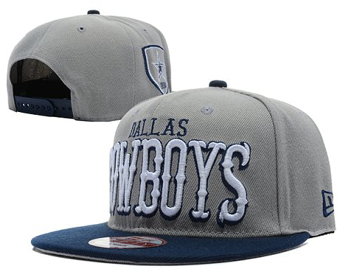 Dallas Cowboys NFL Snapback Hat SD07