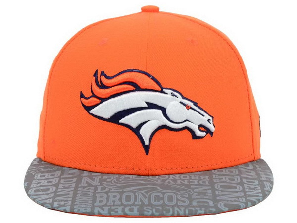 Denver Broncos Orange Snapback Hat XDF 0528