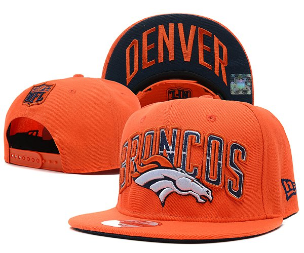 Denver Broncos Snapback Hat SD 2822