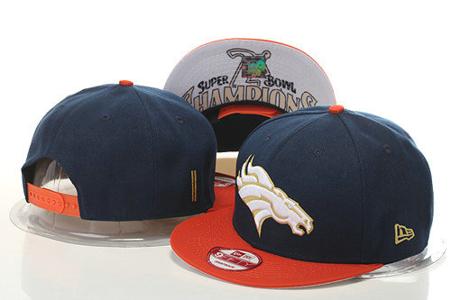 Denver Broncos Snapback Navy Hat GS 0620