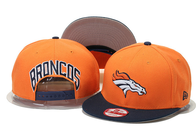 Denver Broncos Snapback Orange Hat GS 0620
