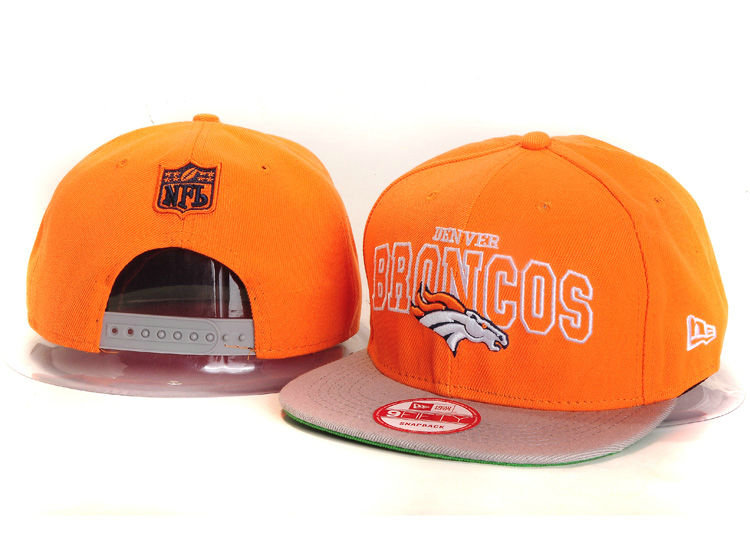 Denver Broncos Orange Snapback Hat YS