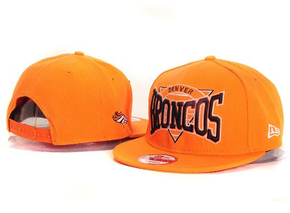 Denver Broncos New Type Snapback Hat YS 6R59