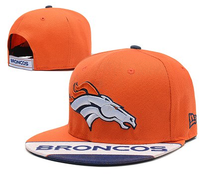 Denver Broncos Snapback Hat 103SD 07