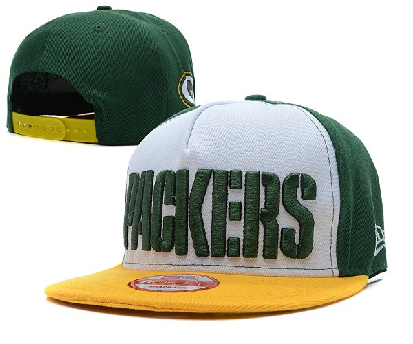 Green Bay Packers Snapback Hat SD 2807