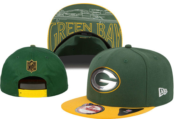 Green Bay Packers Snapback Green Hat XDF 0620